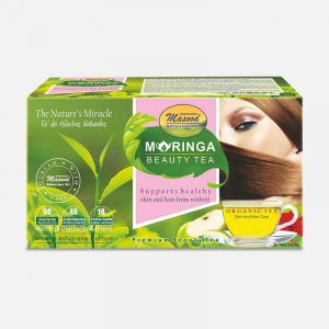 moringa beauty tea-blended with hibiscus-for glowing skin & hairs