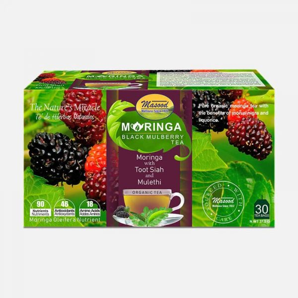 moringa-black-mullberrytea-for cold flu & respiratory health